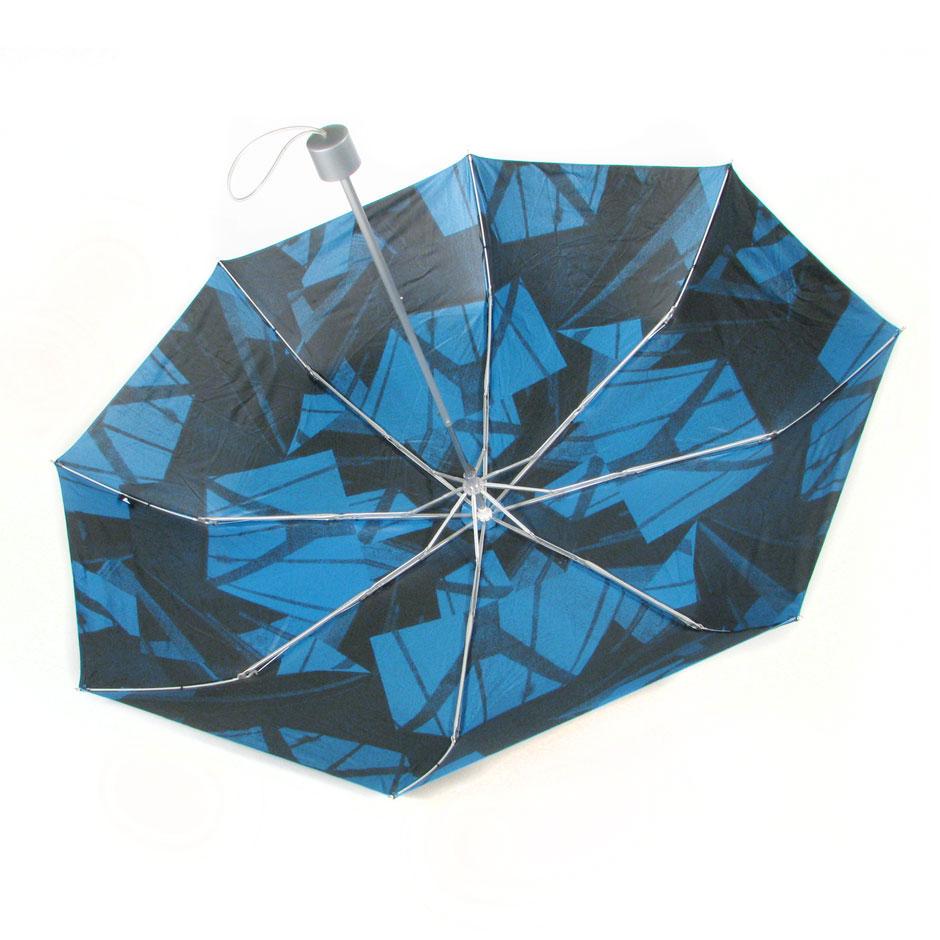 ICA interior print Steel & Fiberglass Compact Umbrella