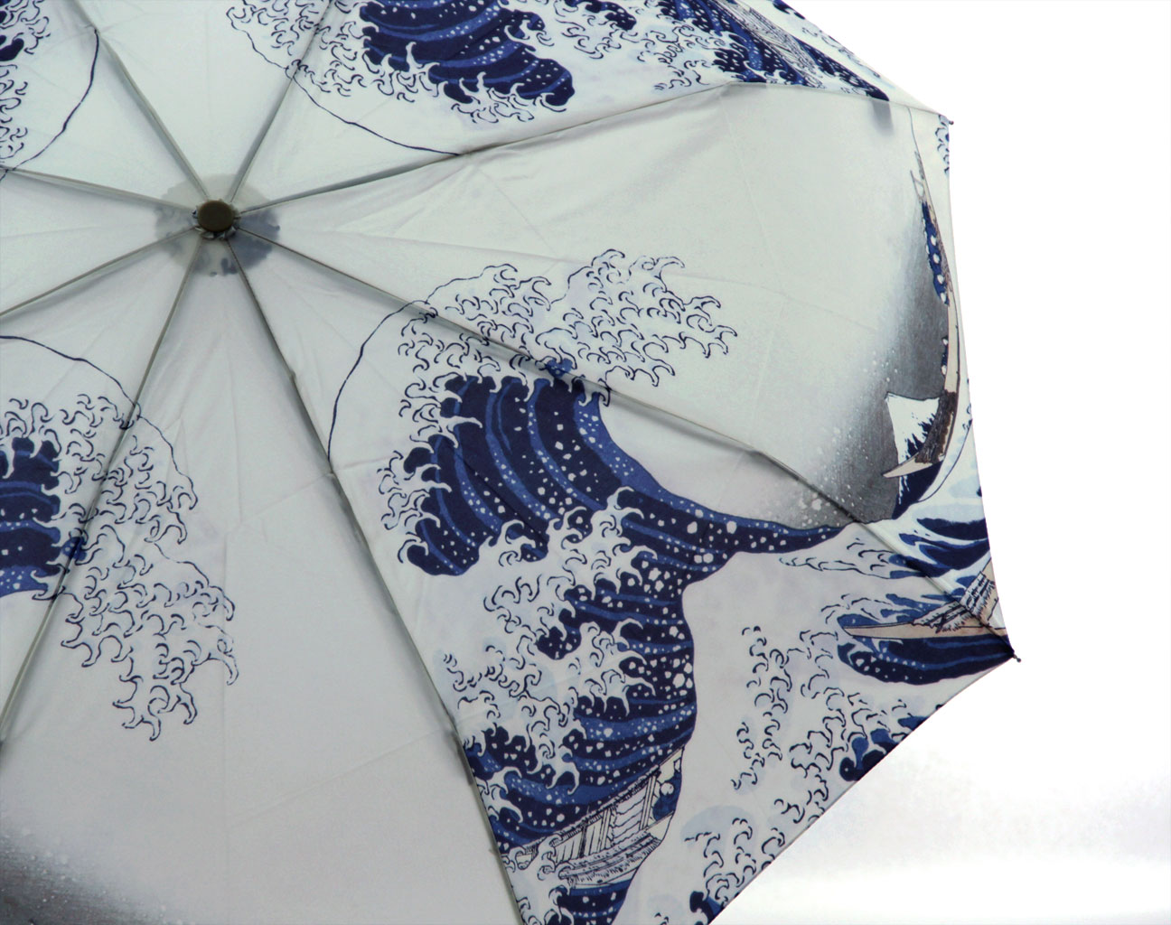 Mount fuji custom print umbrella