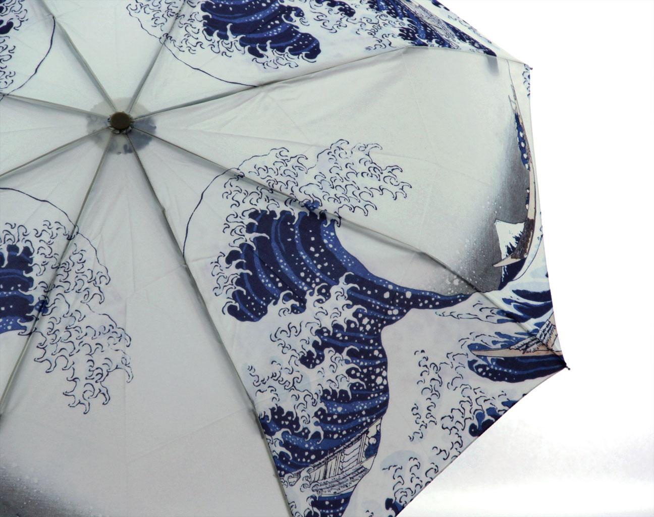 Mount fuji custom print umbrella