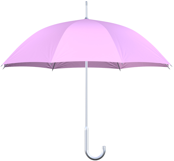 aluminum frame pink umbrella side view
