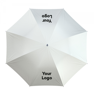double logo custom umbrella