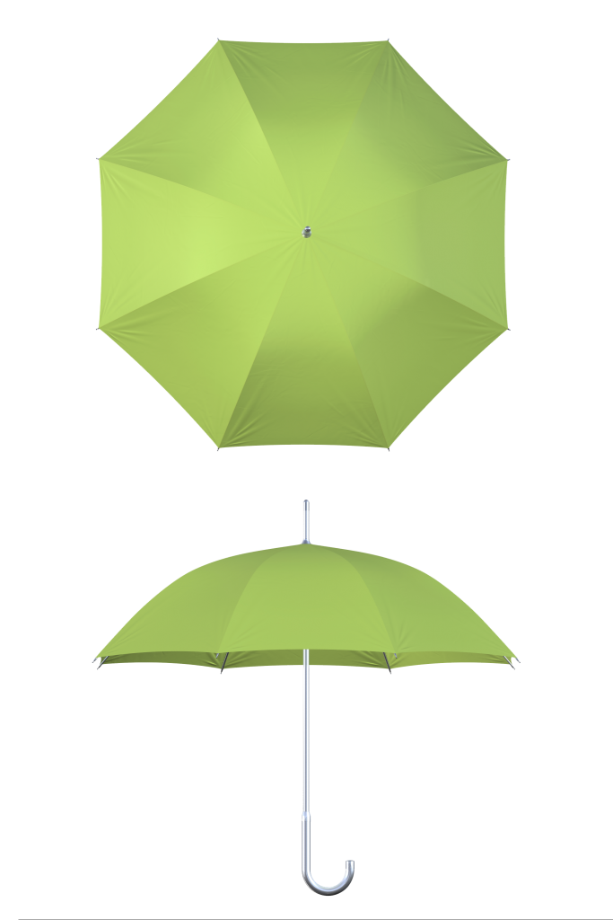 aluminum frame lime umbrella