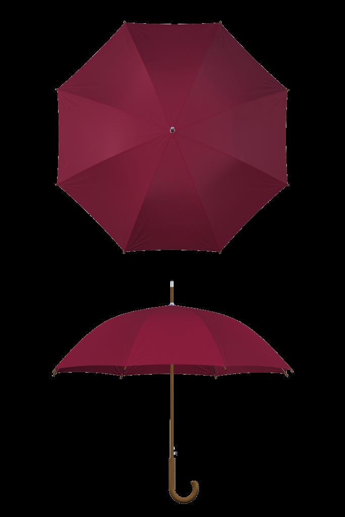 Wood frame wine umbrella