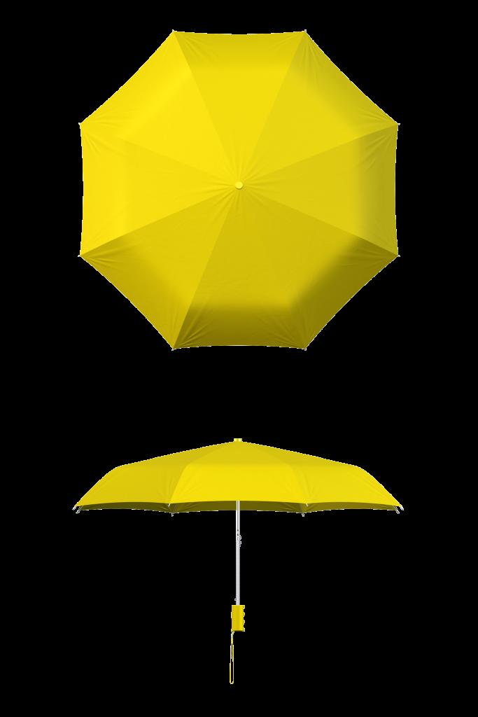 Yellow Compact Umbrella