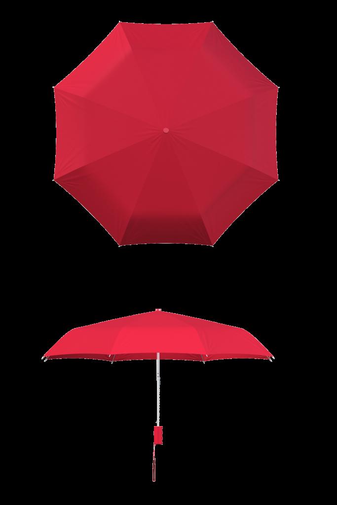 Red Compact Umbrella