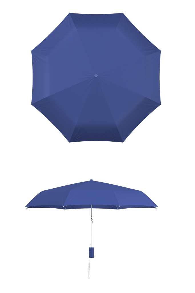 Royal Blue Compact Umbrella