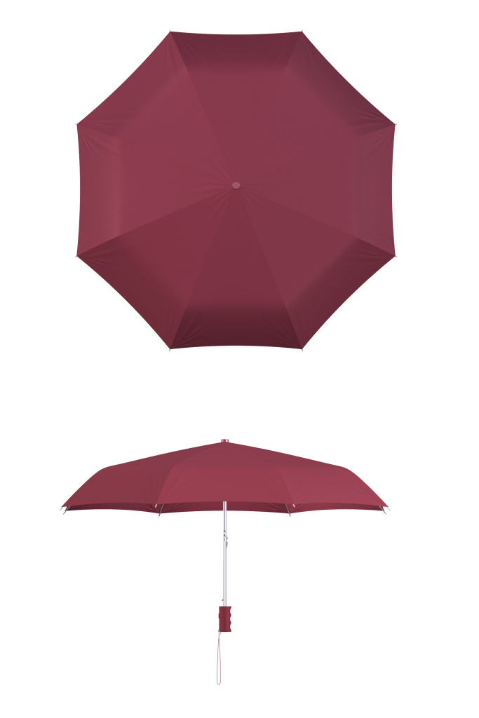 Wine Compact Umbrella