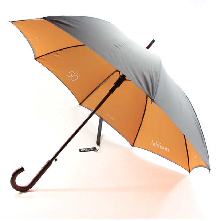 Umbrella, Auto Wood Stick Umbrella