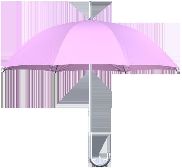 aluminum frame pink umbrella side view