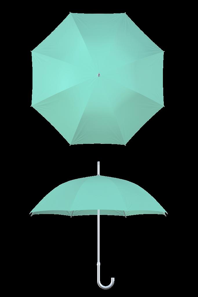 aluminum frame mint umbrella