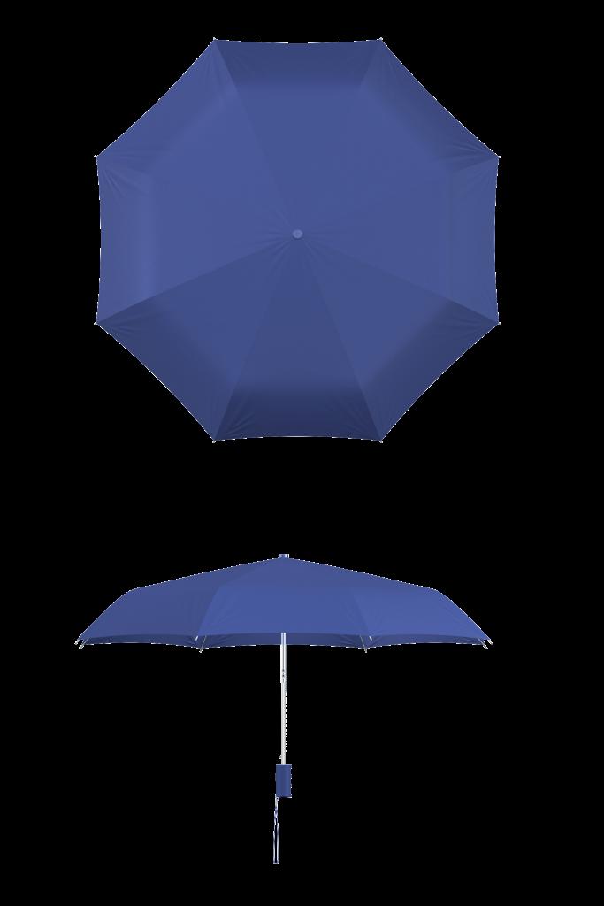Royal Blue Compact Umbrella