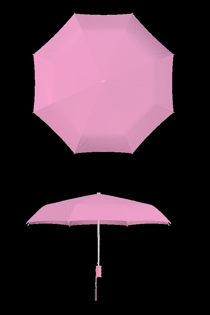 Pink Compact Umbrella